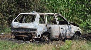 Magára gyújtotta kocsiját egy férfi az M0-áson