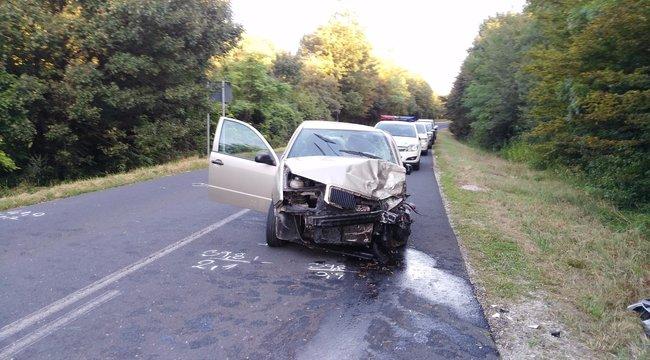 Halálos karambol Veszprém megyében