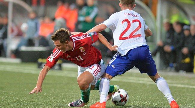 Csalódás: gól nélküli döntetlen a Feröer-szigetek ellen