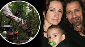 Gödöllői légikatasztrófa: Borzalmas lesz azonosítani a kisfiam