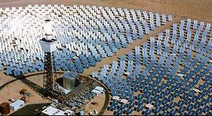 A világ legnagyobb naperőműve épül Kínában