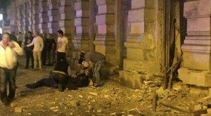 Exkluzív fotó a Teréz körúti robbanásról – szögesbomba lehetett?