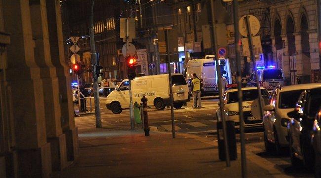 Stabil a robbanásban megsérült rendőrök állapota