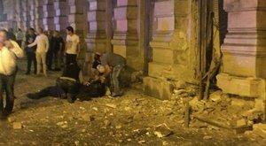 Teréz körúti robbantás: elhagyhatta az intenzívet az egyik járőr