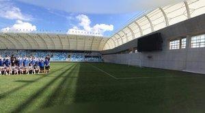 13,4 millióért az MTK stadion betonfalának árnyékában élhet!