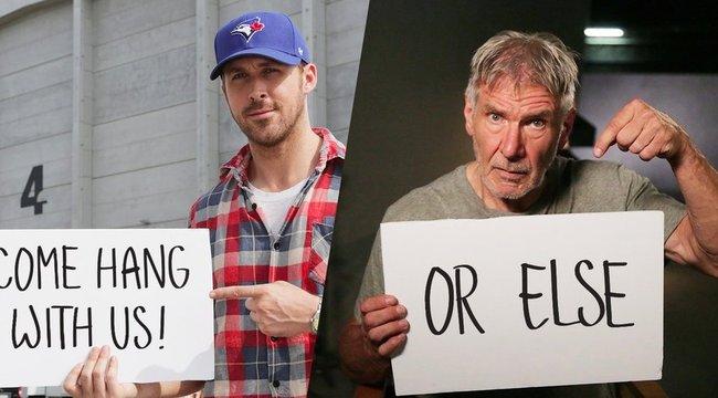 Nyerjen magának egy napot Harrison Forddal és Ryan Goslinggal!