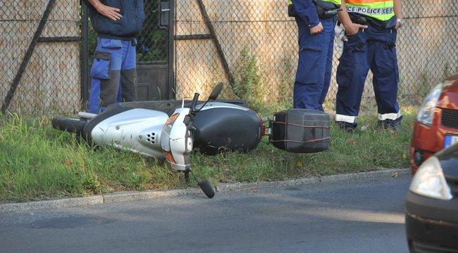 Halálos motorbaleset Zuglóban - fotók