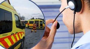 Agyvérzés Ecsernél: másfél órát várt a nő a mentőkre