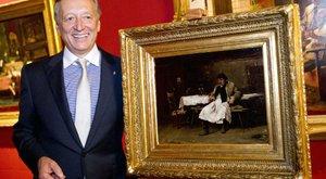 Színesfém-kereskedésből él a milliárdos műgyűjtő, Pákh Imre