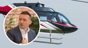 Rogán és családja helikopterrel ment Szabó Zsófi esküvőjére