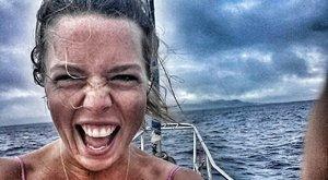 Az Antarktiszra megy a pszichológus Veronika