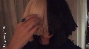 Sia parókája alatt Katy Perry volt