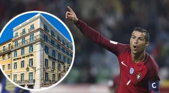 CR7-életérzést nyújt Ronaldo új szállodája