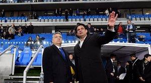 Nem sértődött meg Orbán Viktor a fütty miatt az MTK stadionavatóján