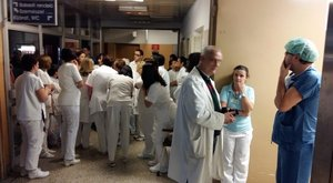 Tűz ütött ki a győri megyei kórházban