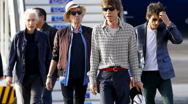 Bepereli Trumpot a Rolling Stones