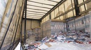 Katalógusok ölték meg a magyar kamionos potyautasát