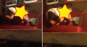 Nem bírták ki hazáig, netkávézóban szexeltek - 18+ videó