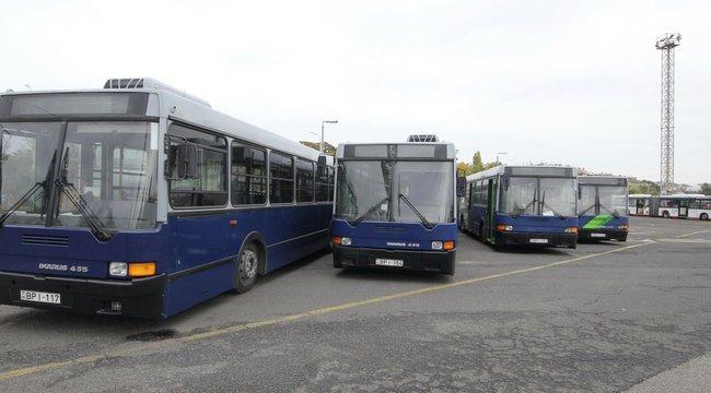 Licitáljon Ön is BKV buszra!