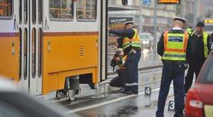 Újpesti baleset: végignézte felesége halálát a villamosvezető férj