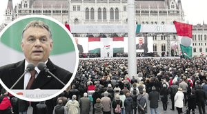 Szétsípolták Orbán ünnepi beszédét