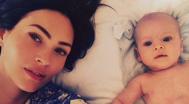 Íme Megan Fox harmadik kisfia!