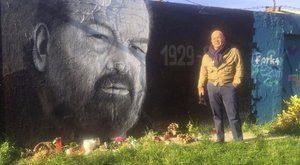 Magyarországon tölti a hétvégét Giuseppe Pedersoli, az olasz színészlegenda fia, aki édesapja budapesti emlékhelyét is meglátogatta.