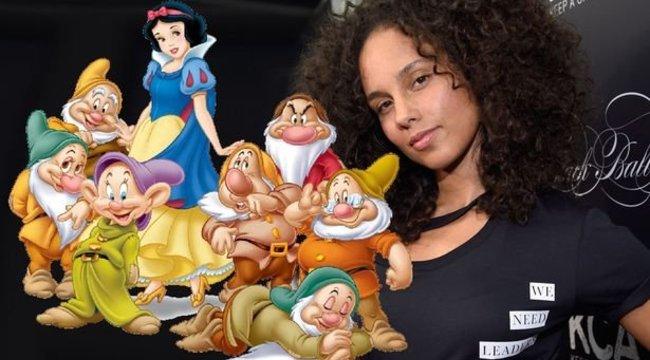 Alicia Keys letiltotta otthon a Hófehérkét, mert az szexista