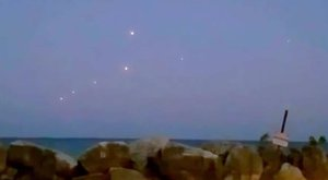 Hét ufót is lefilmeztek a Michigan-tónál