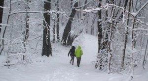 16 centi hó esett már, méghozzá Magyarországon!