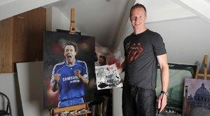 Érdekes foglalkozások: festőművész lett a Wolves hátvédjéből