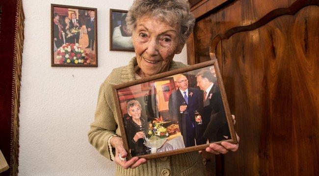 Idősotthonban él Orbán 101 éves aktivistája