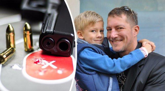 Lőni vinné kilencéves fiát Németh Kristóf