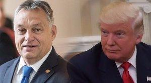Hoppá: Trump végre feltárcsázta Orbán Viktort!