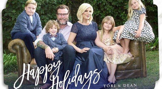Tori Spellingék heten várják a karácsonyt