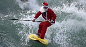 Tudja, hol érkezik szörfön a Mikulás?