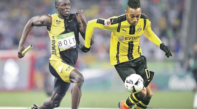 Futóversenyre hívta ki Boltot a leggyorsabb focista