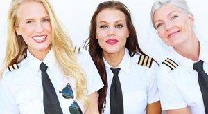Ezektől a szexi pilótanőktől az eszünk is elszáll – fotók