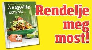 Könyv: A nagyvilág konyhái