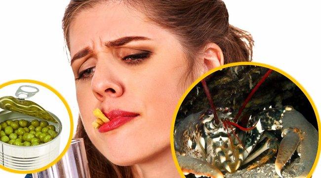 Tudta? A konzervzöldség és a homár is depressziót okoz