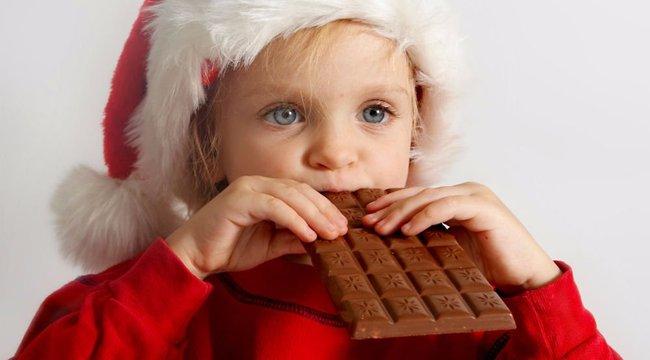 Mennyi édességet egyen a gyerek az ünnepekkor?