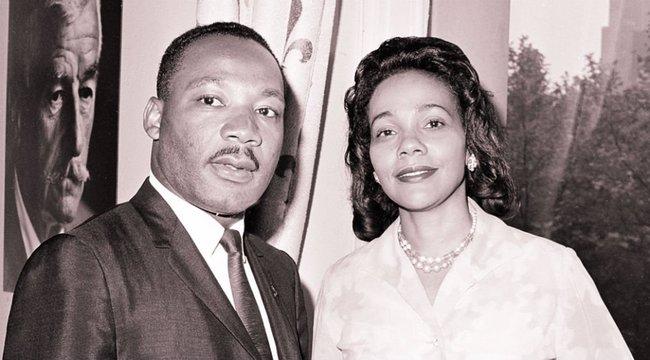 Még a hűtlenség sem állt Martin Luther King és párja útjába