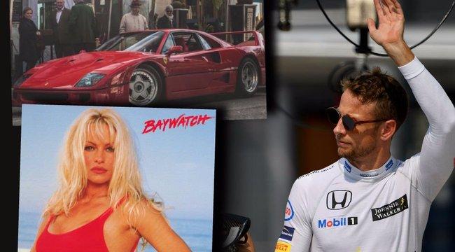 Jenson Button: Pamela helyett Ferrarim lett