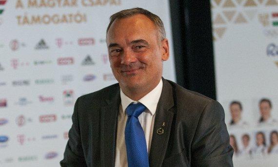Elégedett magával a Magyar Olimpiai Bizottság elnöke