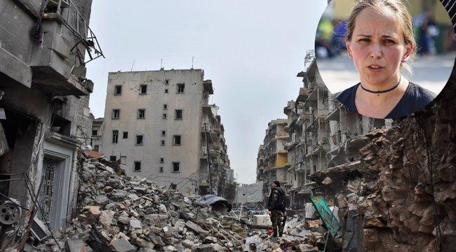 Háború: földi pokolban ünnepelte a karácsonyt Zsuzsa