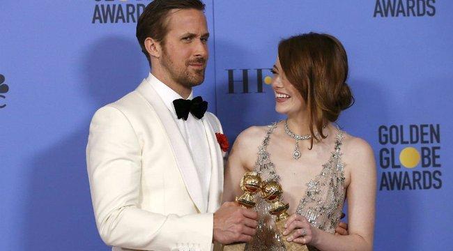 Emma Stone-ék filmje mindent vitt a 74. Golden Globe-gálán