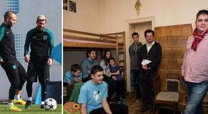 Iniesta és Messi segítségével jutott lakáshoz a Baán család