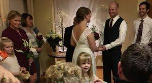 Megható: az anyahalálos ágyánál tartották meg az esküvőt – videó