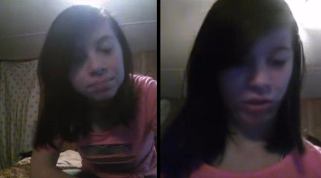 Megállíthatatlanul terjed a 12 éves lány öngyilkos videója