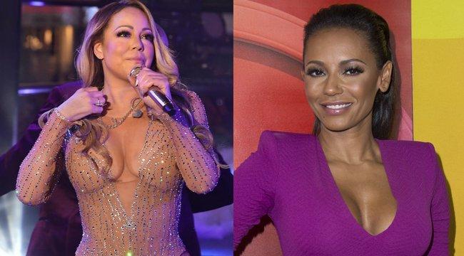 Mariah Careyt cikizi az egykori Spice Girl